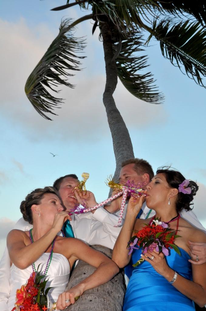 Happy New Year Wedding - Belize Wedding Photography