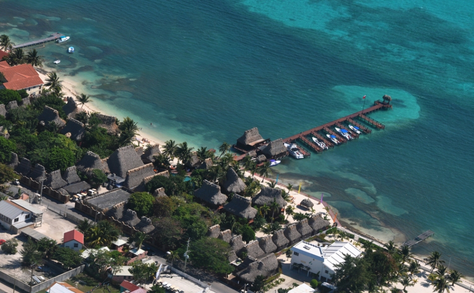 Aerial photography Belize - Ramon's Village