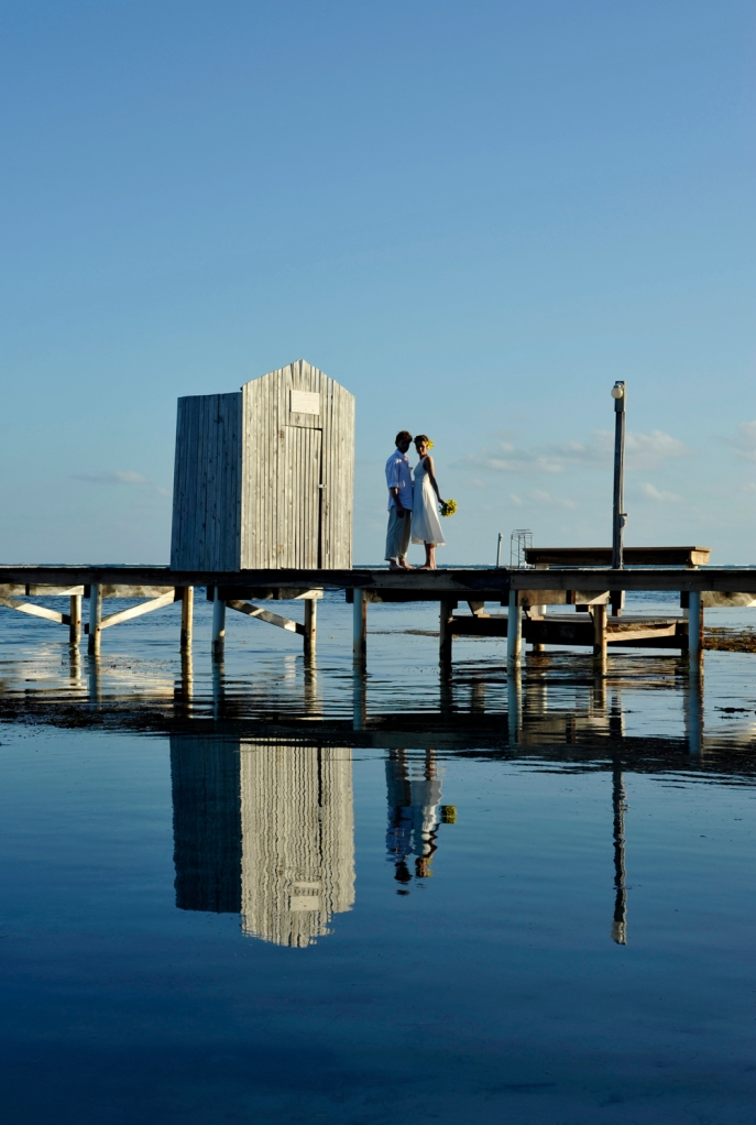 Reflecting on the future - Wedding Photography in Belize
