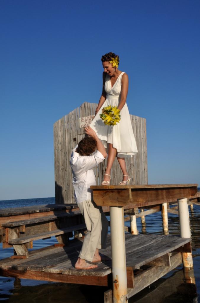 Sneaky peek - Belize Wedding Photography