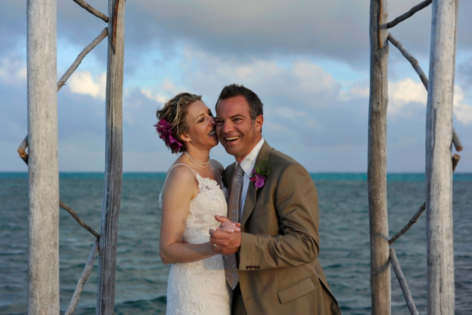 Romance in Belize - Belize Wedding
