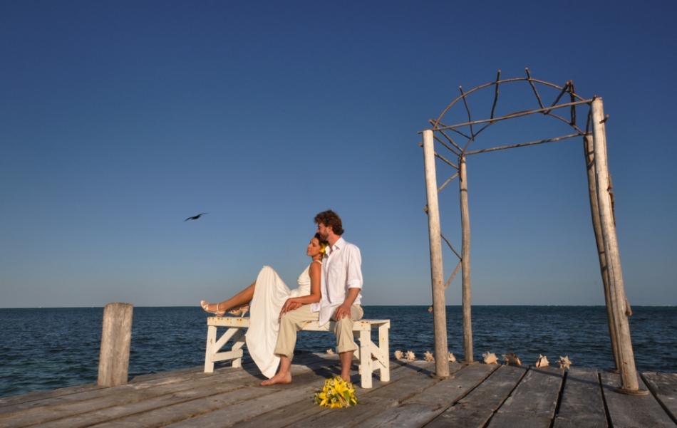 Contemplative - Belize Wedding Photography