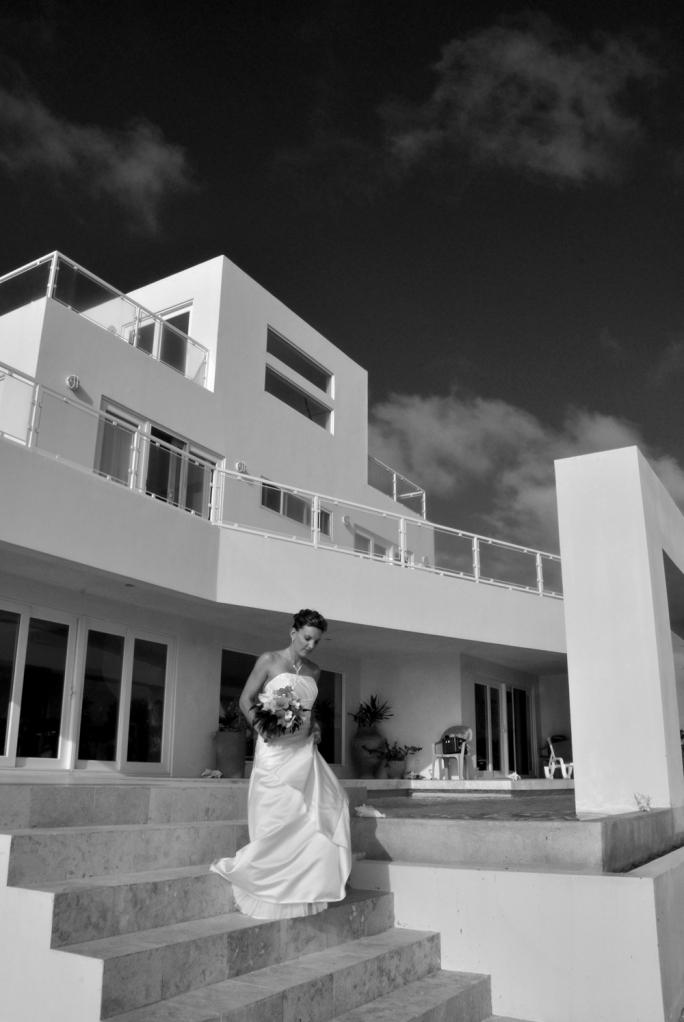 Caye Winds Bride - Belize Wedding Photography