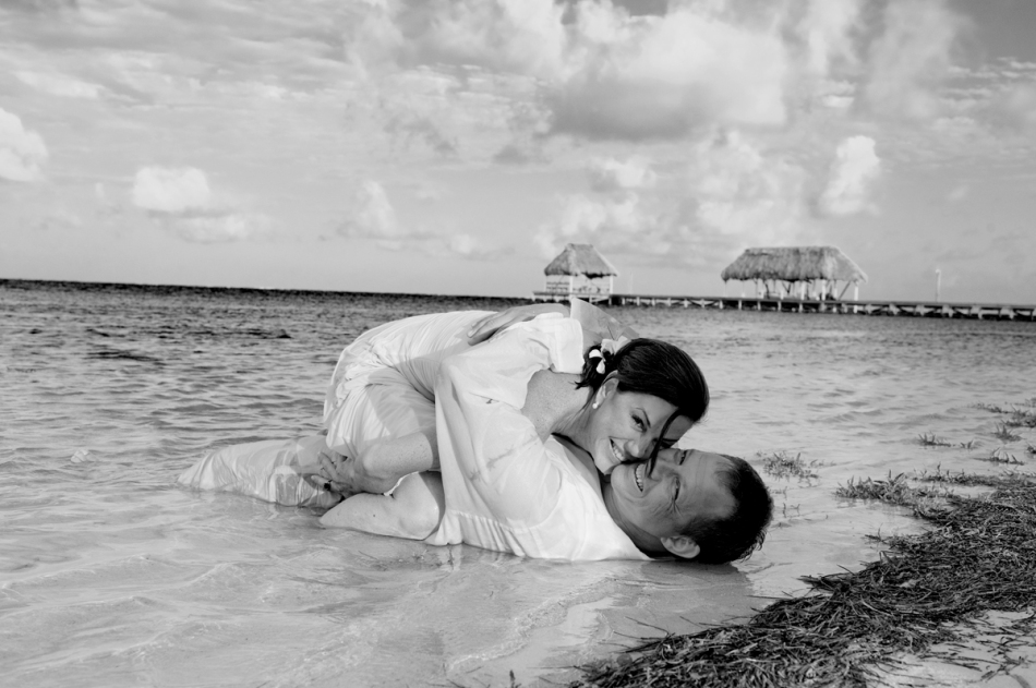 Belize Wedding, Belize Trash the Dress
