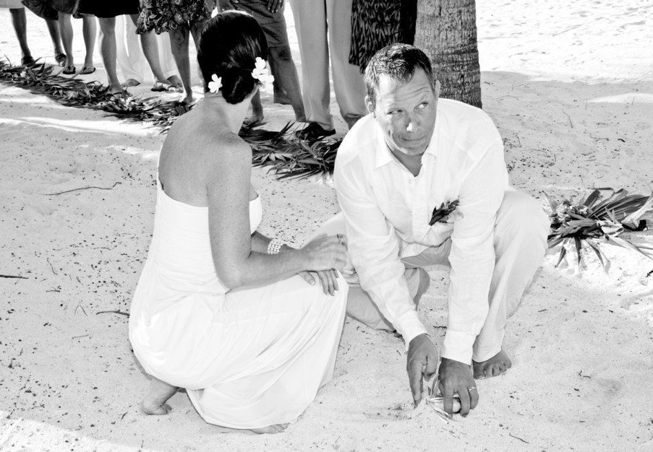 Wedding Belize Sand Ceremony