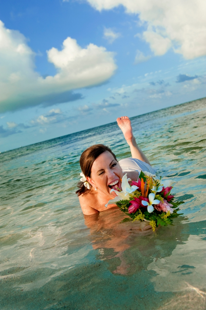 Belize Trash the Dress