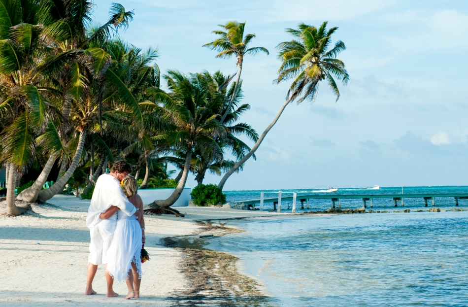 Beach Wedding Belize