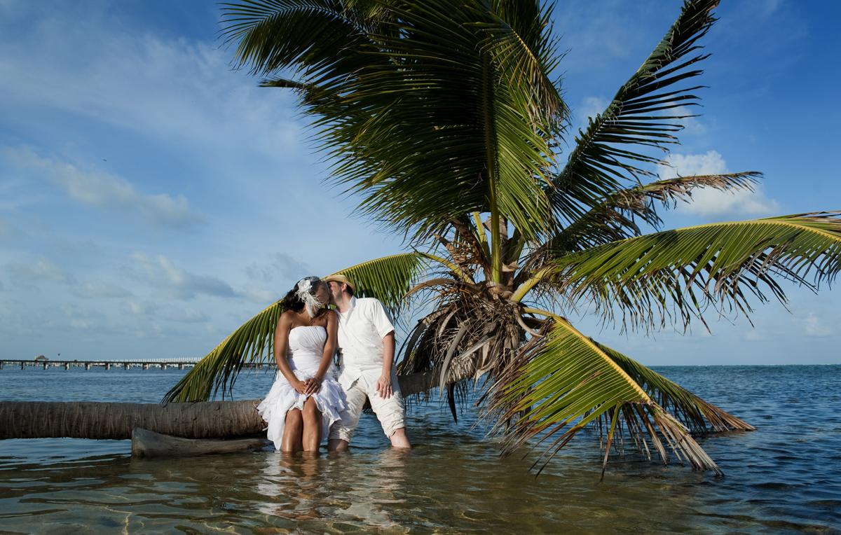 Island Caye Belize Long