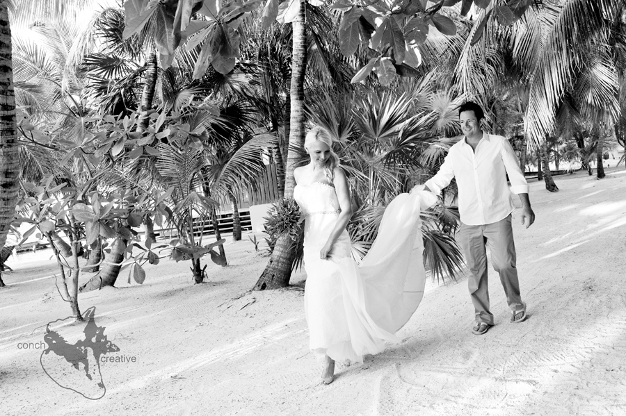 Cayo Espanto Wedding