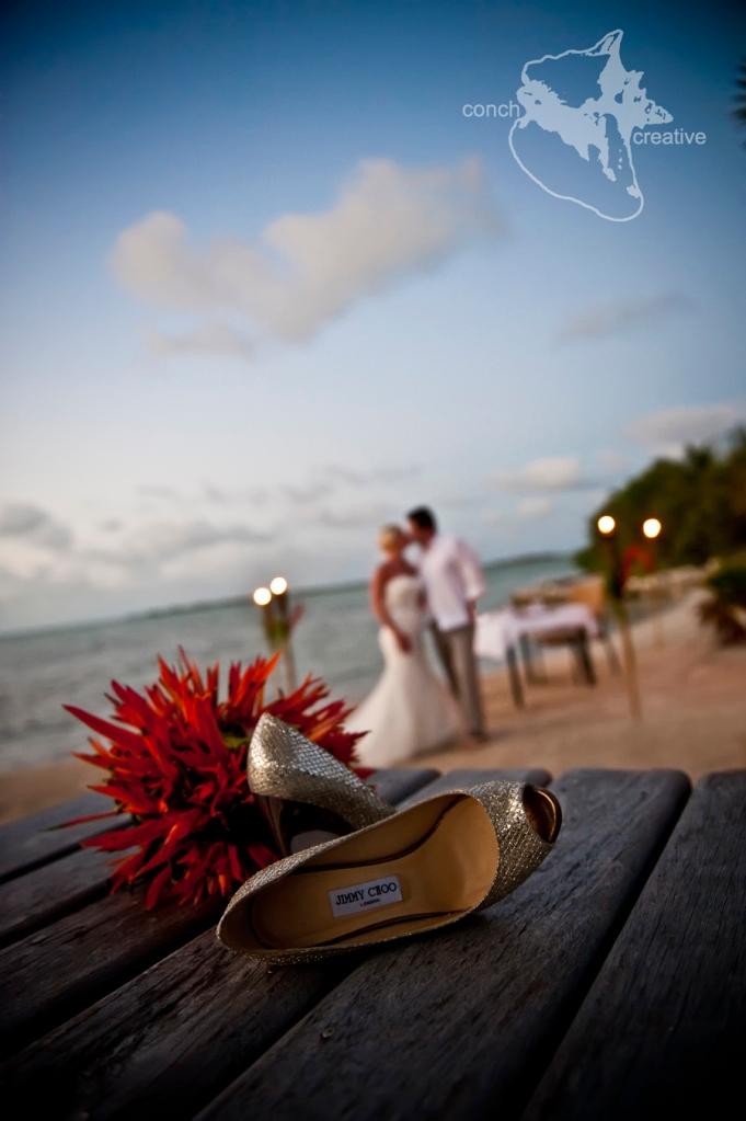 Cayo Espanto Wedding