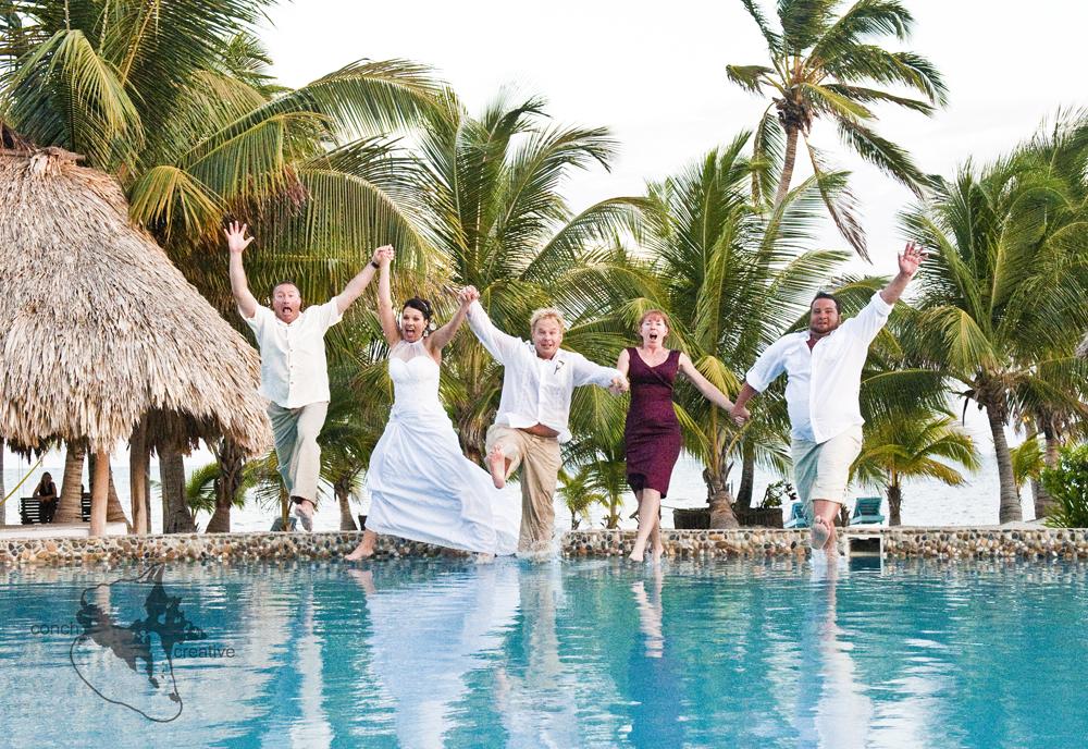 Let Them Eat Cake Or Seaweed Belize Weddings