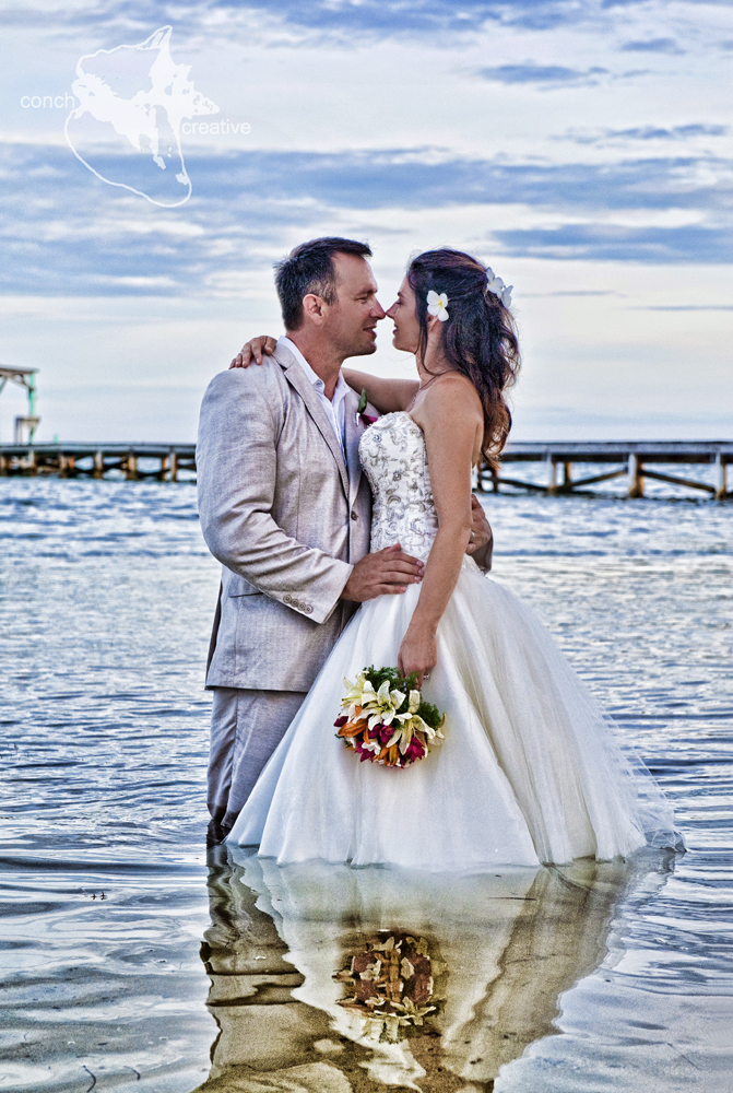 Ambergris Caye Trash the Dress