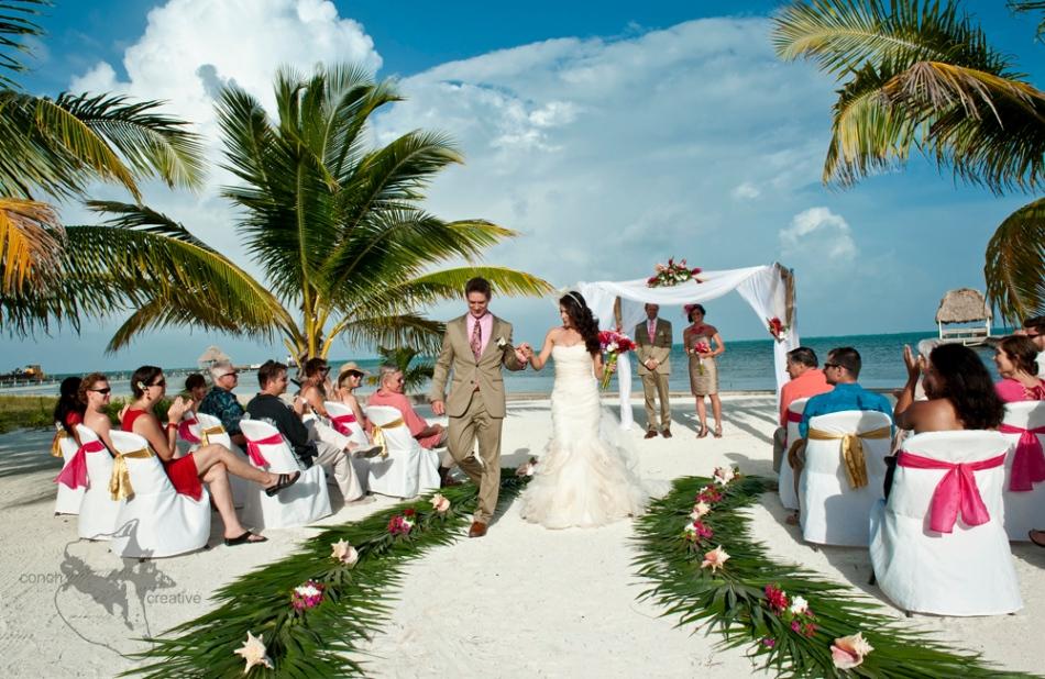 Belize Wedding Ambergris Caye