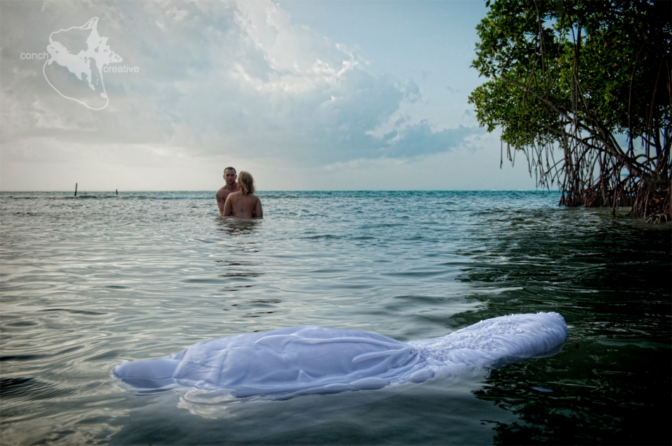 Trash the Dress Photography in Belize