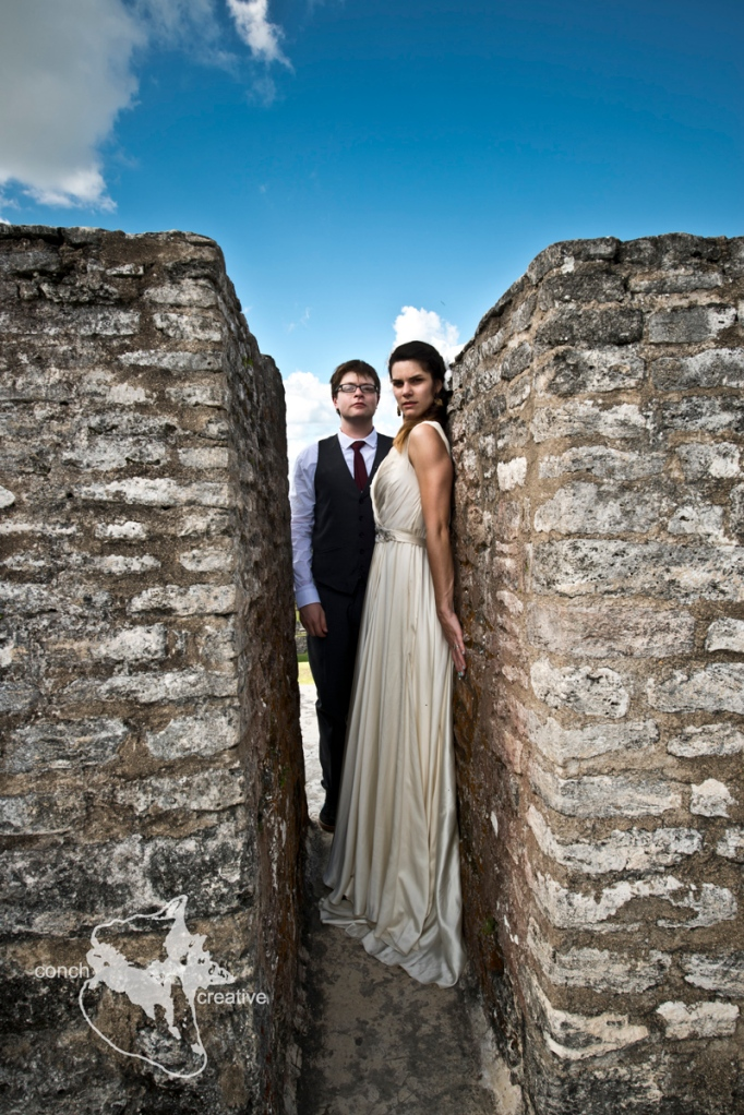 Wedding Photography in Belize - Mayan Ruins Photographer