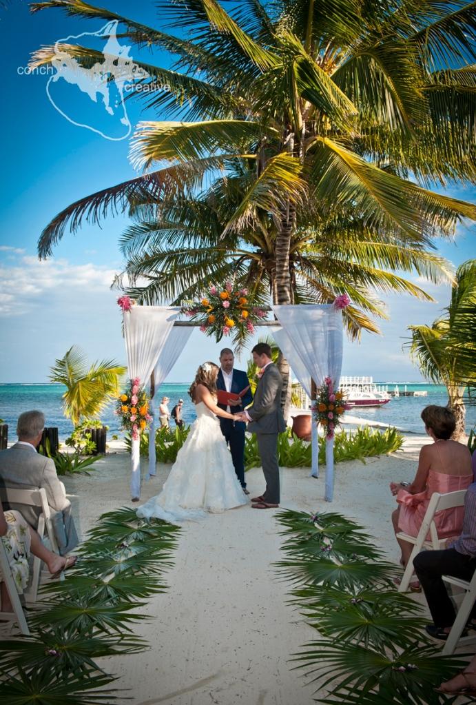 Belize Wedding at Las Terrazas Ambergris Caye
