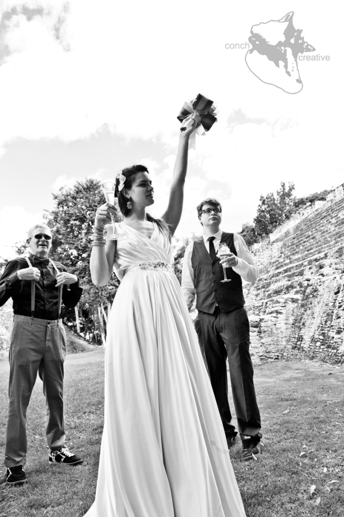Wedding at Mayan Ruins in Belize - Belize Wedding Photography