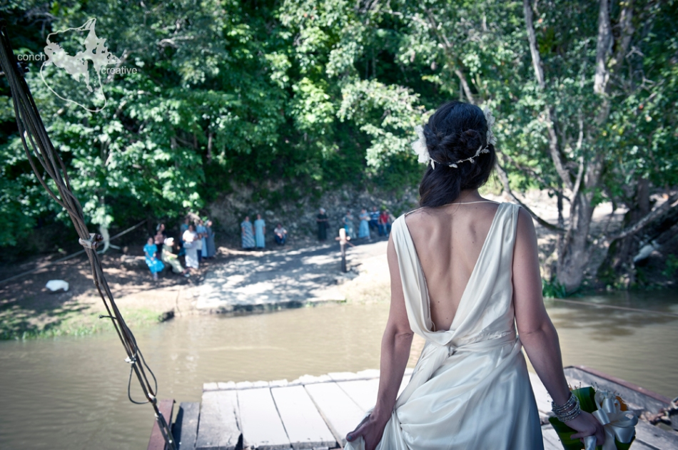 Wedding Photography - Belize Wedding at Mayan Ruins