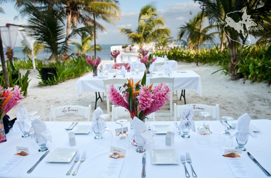 Wedding Photography in Belize - Las Terrazas Wedding Belize