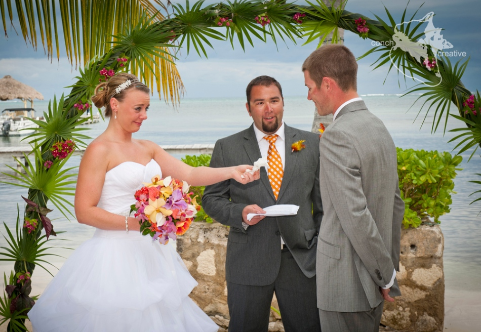 Belize Destination Wedding Photography - Wedding in Belize