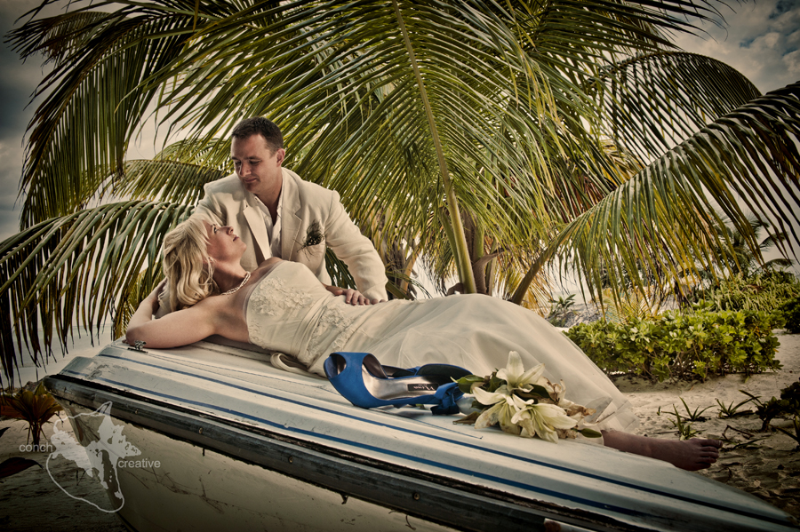 Trash the Dress in Belize