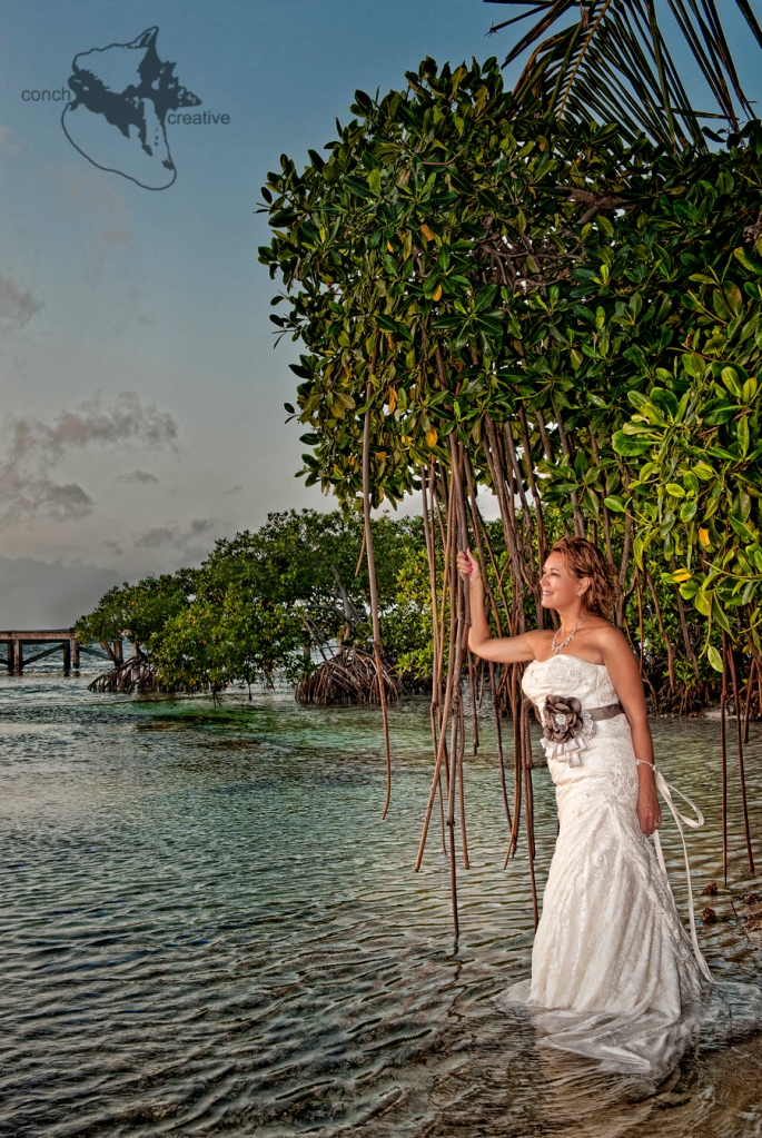 Trash the Dress in Belize Photography