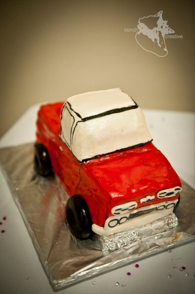 Wedding Belize Cake