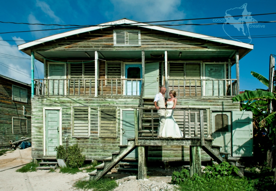 Destination Wedding - Trash the Dress in Belize Photographer