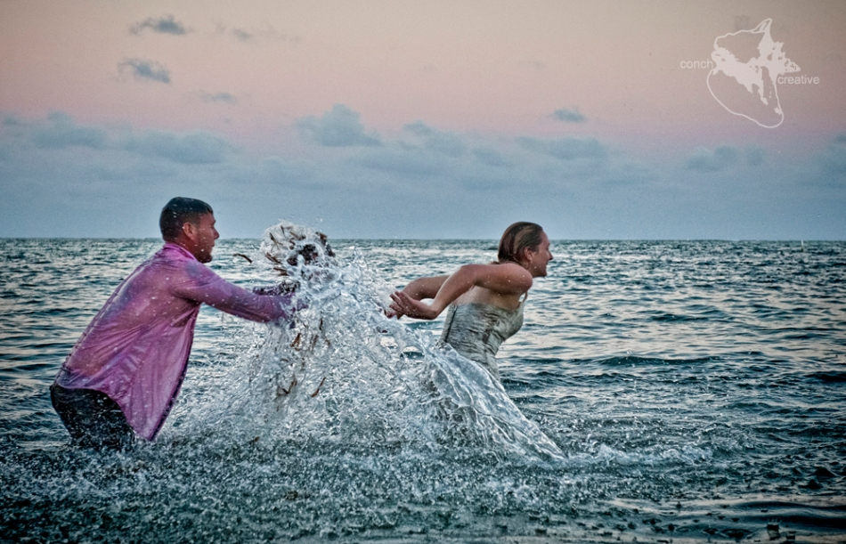 Belize Wedding - Trash the Dress