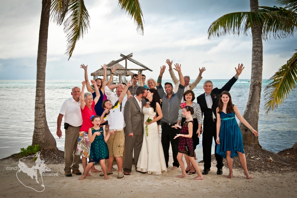 Destination Wedding in Belize