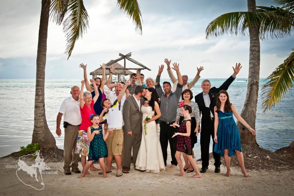 Destination Wedding in Belize