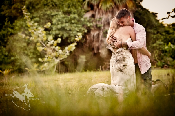 Trash the Dress in Belize - Wedding Photography