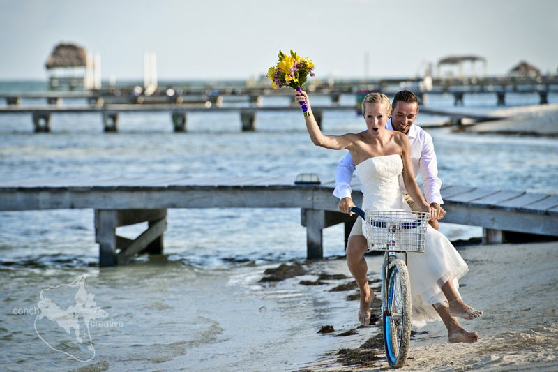 Wedding in Belize - Beach Belize Photography