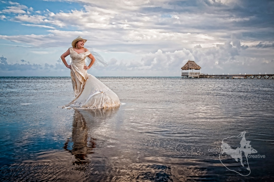 Trash The Dress Wedding Photography Belize