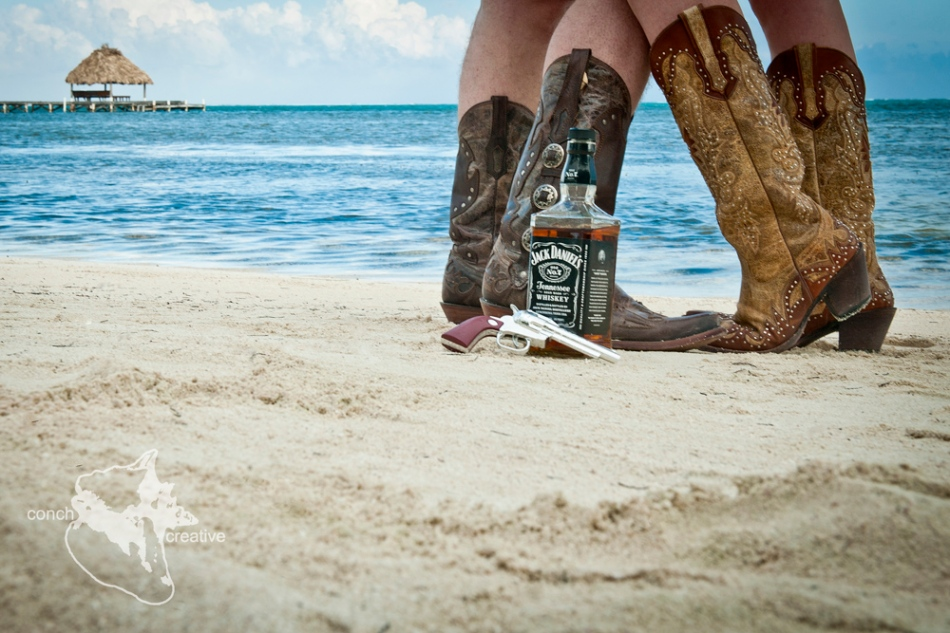 Wedding Photographer - Trash the Dress Belize