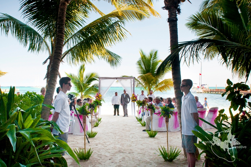 Belize Wedding - San Pedro Photographer
