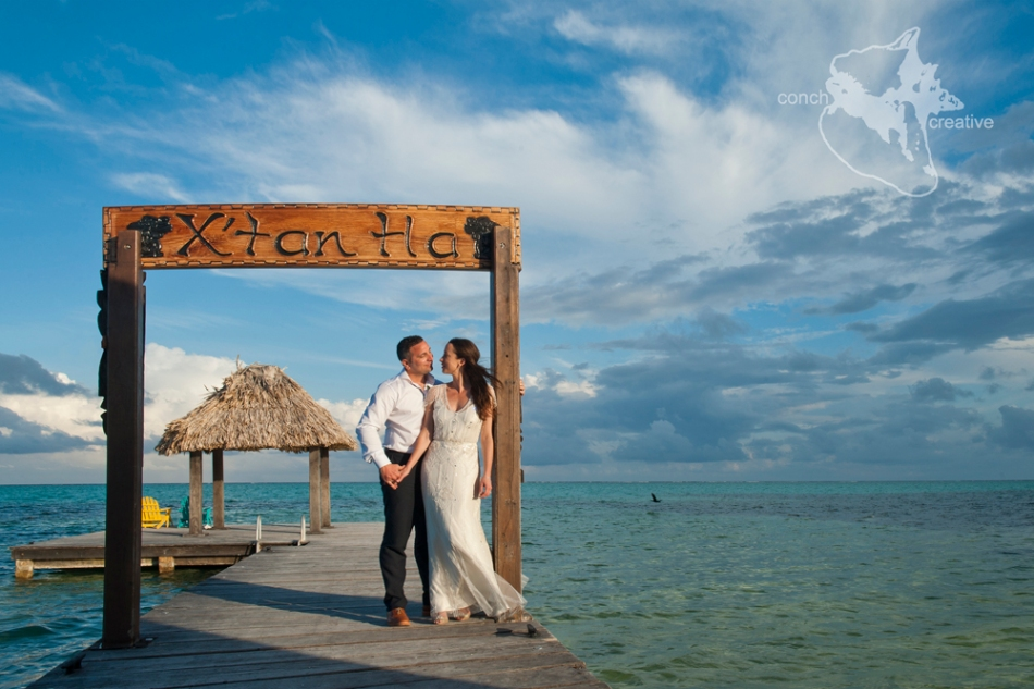 Wedding Photography X'Tan Xa Belize