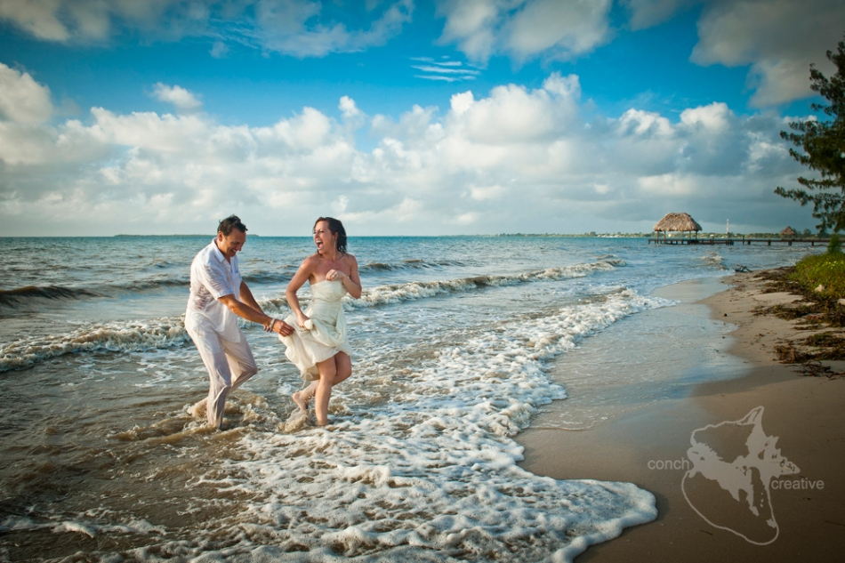 Trash the Dress - Belize - Wedding Photographer