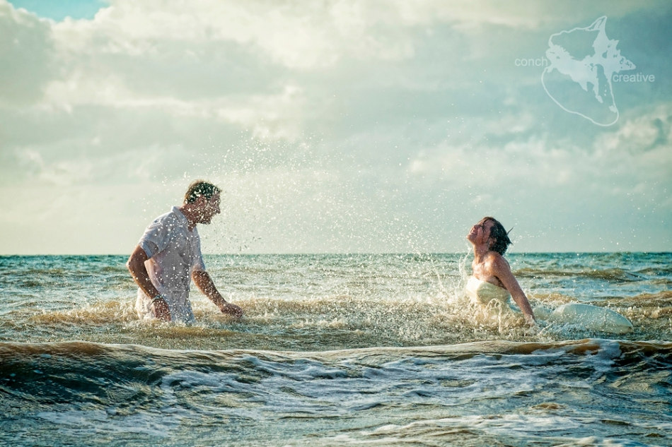 Trash the Dress in Belize Photographer