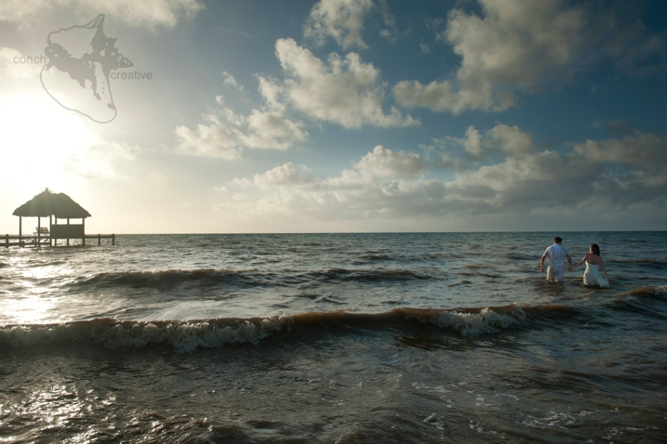 Trash the Dress Wedding Photography in Belize