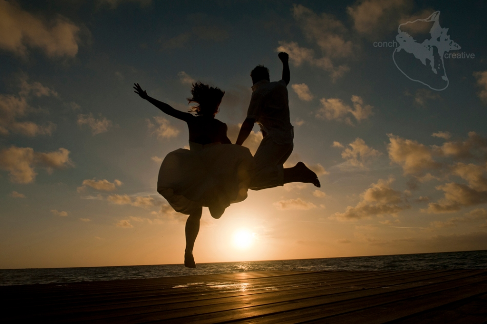 Wedding Photography  - Trash the Dress Belize