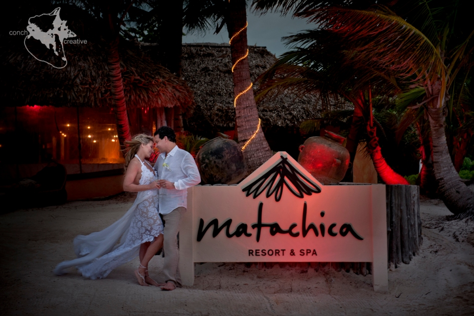 Belize Wedding phtographer Ambergris Caye - Mata Chica Wedding