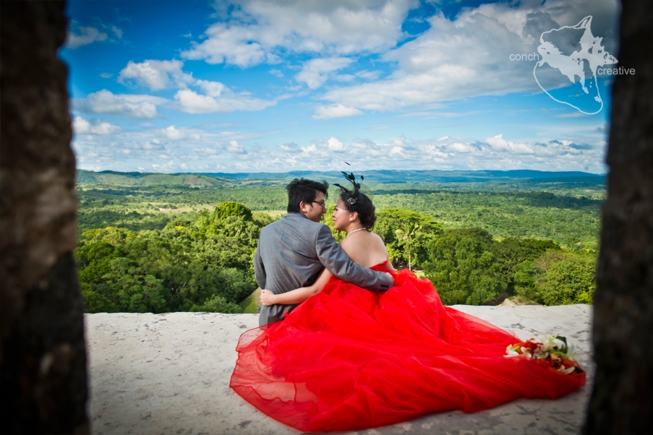 Mayan-Ruins-Belize-Wedding-Photographer